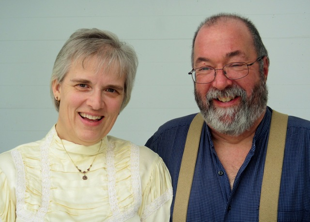 headshot of Beth Lawton and Dick Hogle